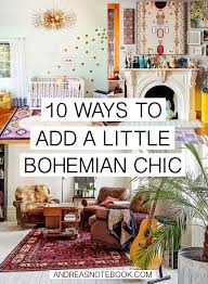 chic home interiors 10 ways to add bohemian chic to your home andreasnotebook com