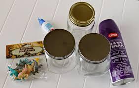 Diy Kids Bathroom - update your kids bathroom decor with easy diy dinosaur jars