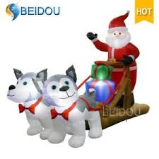 china wholesale outdoor inflatable christmas decorations snowman