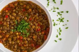 comment cuisiner des lentilles en boite recette en vidéo soupe de lentilles crémeuse croquante