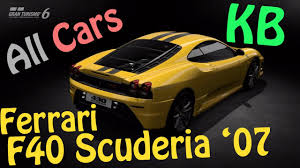 top speed f430 f430 scuderia 07 top speed and test gt6