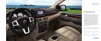 volkswagen minivan routan 2012 vw routan brochure