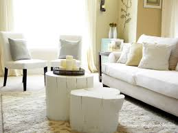 Cheap Chic Home Decor Coffee Tables Attractive Tree Trunk Coffee Table Thrifty And