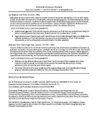 Maintenance Resume Examples by Resume Workopolis Sample