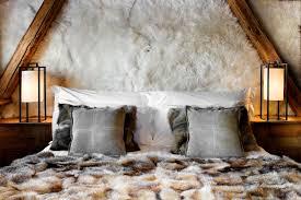 deco chambre chalet montagne les fermes de hotel et spa luxe collection et deco chambre