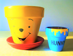 vasi decorativi idee creative per bambini ci sono i vasi e i sottovasi