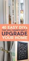 Diy Home Renovation by 40 Easy Diys That Will Instantly Upgrade Your Home House And