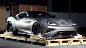 first car ever made the icona vulcano is the world u0027s first car to be made out of