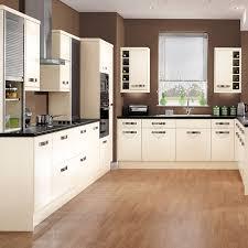 gloss cream shaker kitchen range kitchens magnet trade