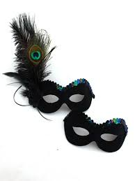 peacock masquerade mask s matching peacock black feather masks