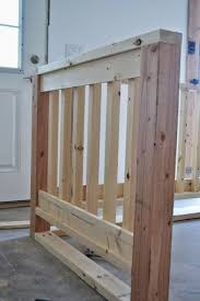 Indoor Banister Diying A Wood Handrail Ana White Woodworking Projects