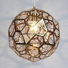 Steel Pendant Lights Tom Dixon Etch Web Light Led Stainless Steel Pendant L