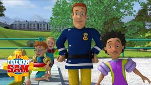 fireman sam official running pool