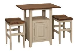 Amish Kitchen Furniture Solid Hickory Wood American Made Furniture Kitchen Island Within