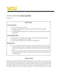 Example Of Executive Summary For Resume It Resume Executive Summary Sample Socialists Furry Ml