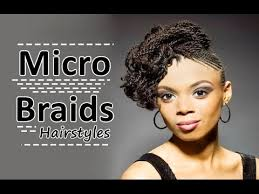 micro braids hairstyles for long hair micro braids hairstyles for american african women youtube