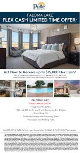 calla plan at paloma lake in round rock texas by pulte homes