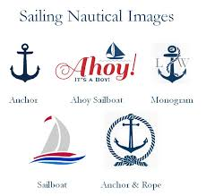 nautical thank you cards sailing nautical wedding bridal thank you cards notes pavia