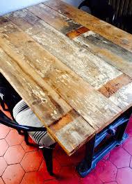 table cuisine sur mesure table de cuisine sur mesure style industriel i les faiseurs