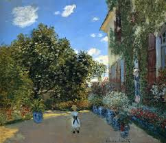 the artist u0027s house at argenteuil 1873 claude monet wikiart org