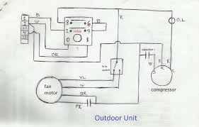 split air conditioner wiring diagram throughout ac within of type