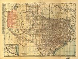 houston map buy historical map of railroad map 1900