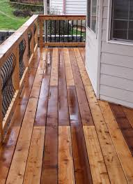 Longest Lasting Cedar Deck Stain by Cedar Decking Vancouver Wa Cascade Fence U0026 Deck