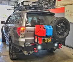 red subaru forester 2015 subaru forester rear front bumper build pics american