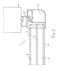 glass door google patent ep1455045a1 glass door and or fixed glass wall