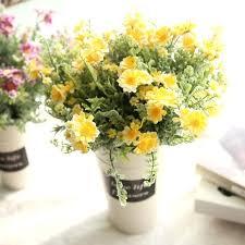 fake flowers for home decor home decor flower arrangements burgundy gold silk arrangement home