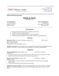 Career Change Sample Resume by Sample Resume Objective It Resume Maker Create Professional