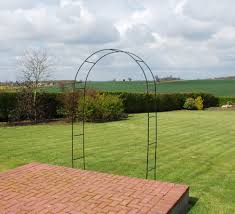 kingfisher self assembly garden arch for climbing plants u0026 roses