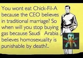Chick Fil A Meme - homosexuality stupidbadmemes