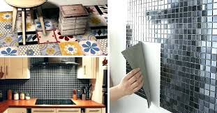 recouvrir meuble cuisine adhesif pour carrelage cuisine founderhealth co
