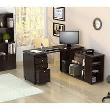 L Shaped Computer Desk With Storage L Shaped Desks For Less Overstock