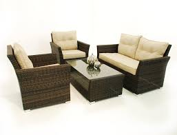 sofa rattan maze rattan 4 pc seat sofa rattan garden furniture set