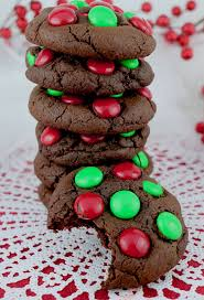 christmas chocolate chocolate m m christmas cookies two crafting