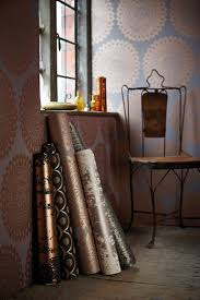 on trend copper wallpapers by harlequin powder room pinterest
