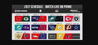 amazon thursday deals black friday 2017 amazon prime members can stream 11 free nfl games through