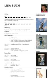Resume Samples For Teaching Job by Art Teacher Resume Samples Visualcv Resume Samples Database
