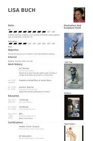 Fictional Resume Art Teacher Resume Samples Visualcv Resume Samples Database