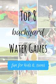 backyard water games ideas home outdoor decoration
