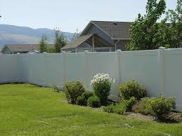 white privacy fence ideas home u0026 gardens geek