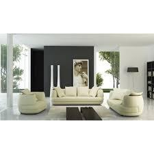 ensemble canape 3 et 2 places ensemble canapé 3 2 1 places en cuir beige diego achat vente