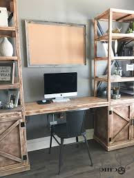 Floating Desk Diy Diy Floating Desk For Office Towers Shanty 2 Chic Regarding