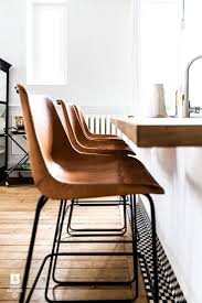 best 25 leather bar stools ideas on pinterest white leather bar