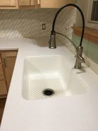 lg hi macs sinks lg hi macs colors arctic white and ripe cotton kitchen ideas