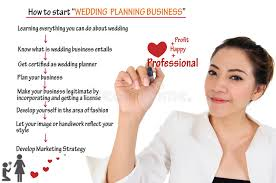 wedding planning business how to start wedding planning business for concept stock