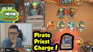 Heartstone Meme - amaz pirate priest new cancer or new meme of hearthstone youtube