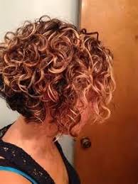 how to stlye a stacked bob with wavy hair best 25 curly stacked bobs ideas on pinterest short perm what
